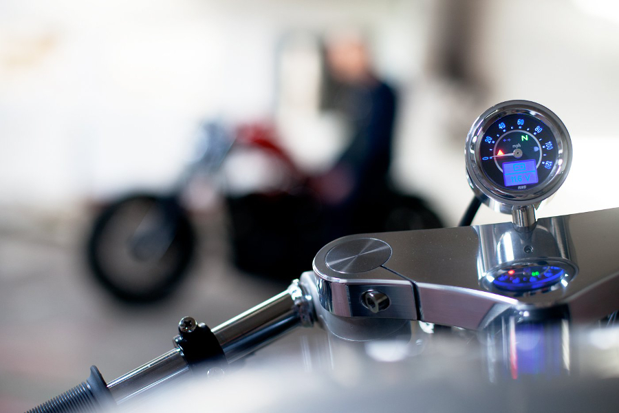 Foundry Motorcycles BMW R80 Instruments | CustomBike.cc