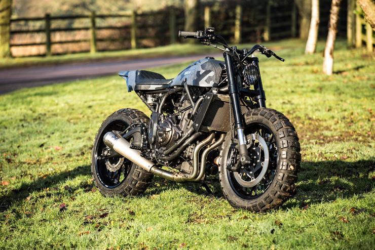 Yamaha Yard Build | Rough Crafts XSR700 | CustomBike.cc
