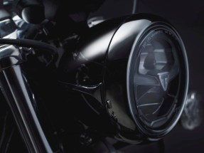 Bonneville Speedmaster 2018 Black LED Headlight