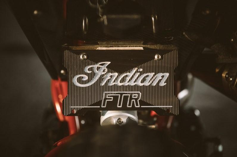 Indian Scout FTR1200 Custom Underside Rear