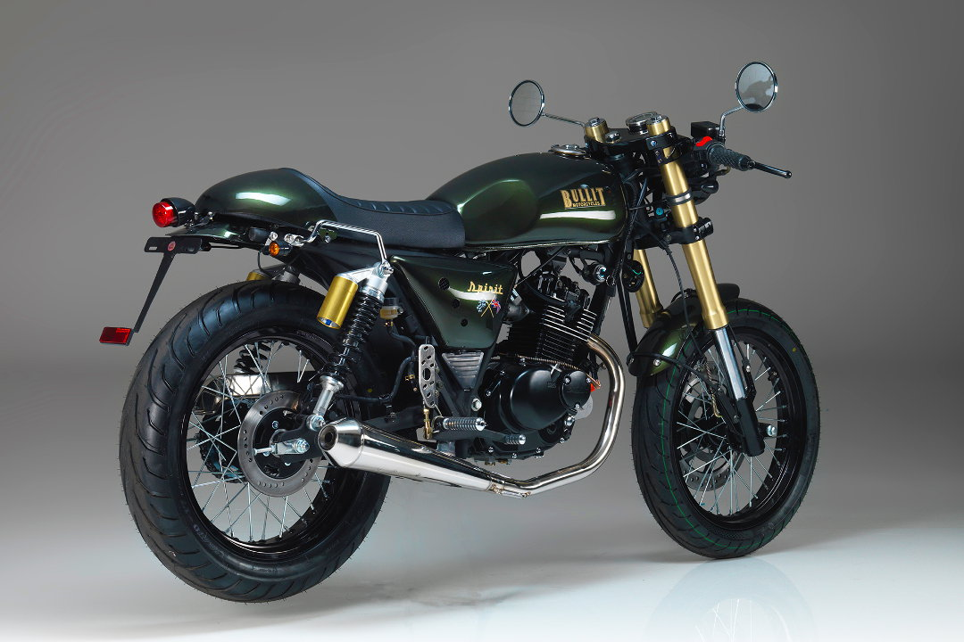 Bullit Motorcycles Spirit 125cc