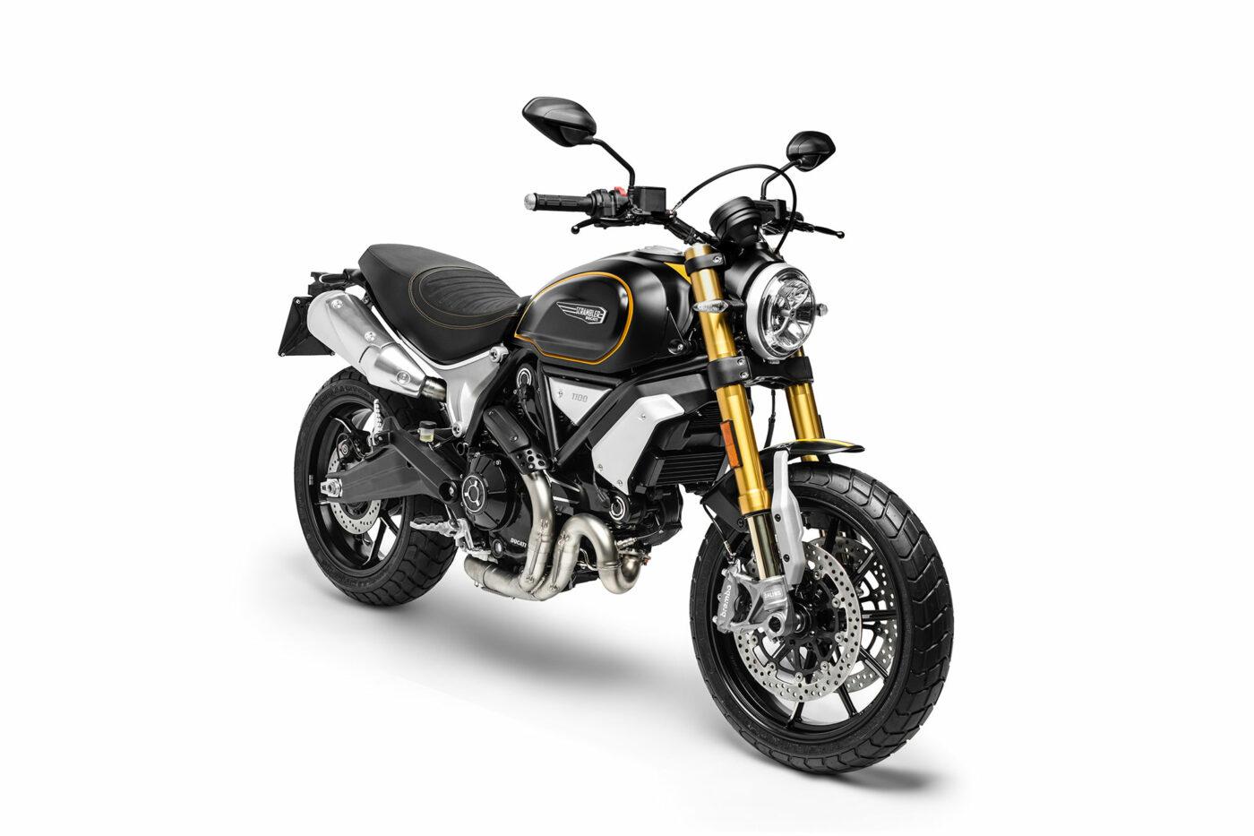 Ducati Scrambler 1100 Special Front Side