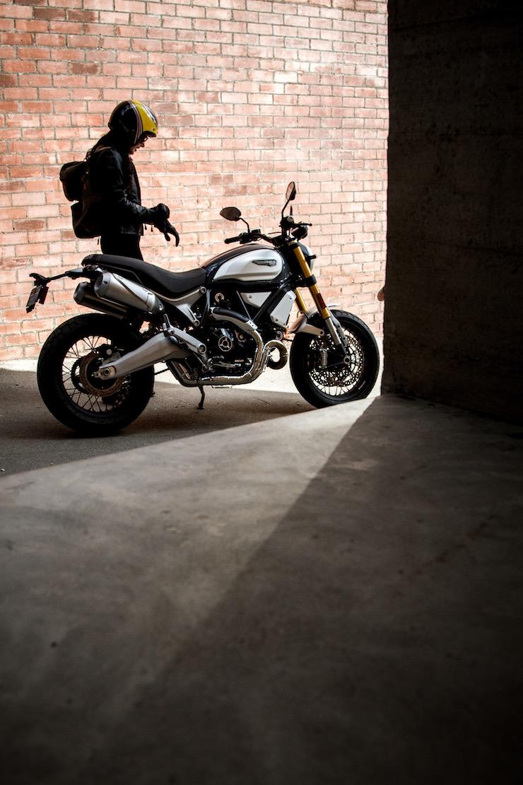 Ducati Scrambler 1100 - Imogen Lehtonen