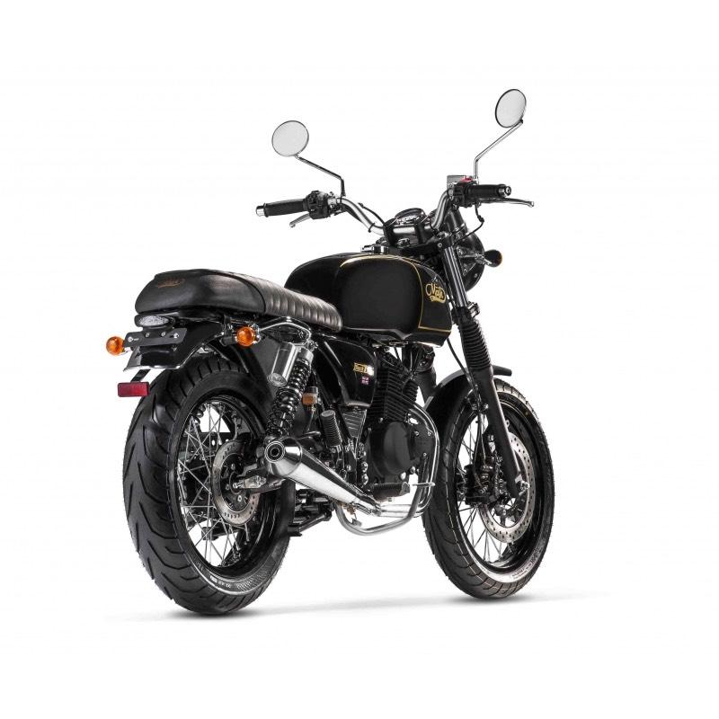 Mash Black Seven 125cc Injection rear right