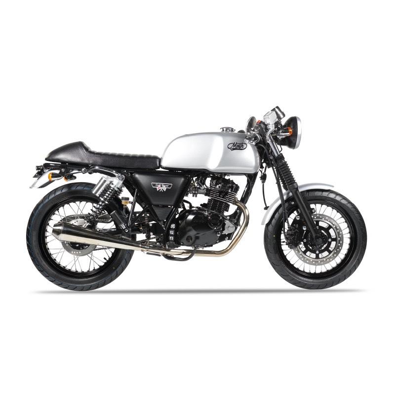 Mash Motorcycles Cafe Racer 125cc rhs
