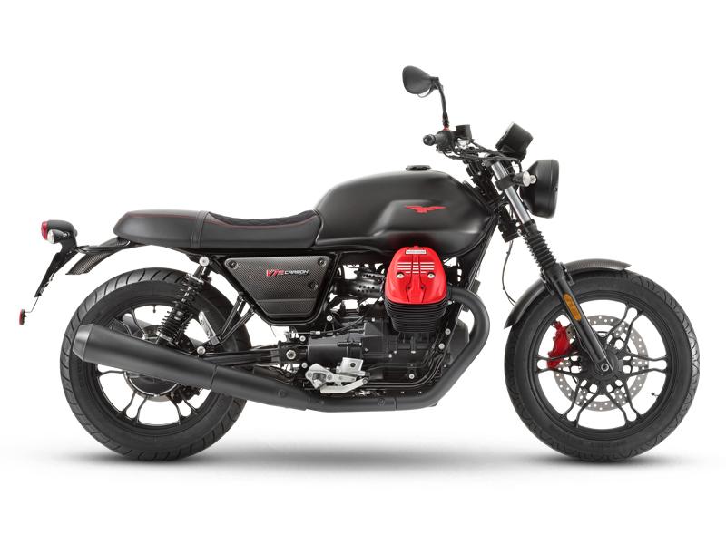 Moto Guzzi V7 III Special Edition Carbon