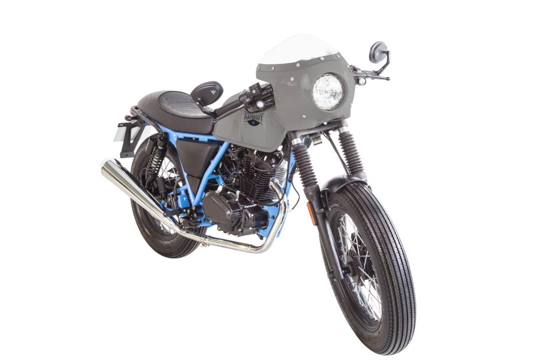 Retro 125cc Brixton Motorcycles BX125 Haycroft