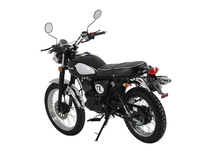 Retro 125cc - Sinnis Scrambler 125cc Rear Left