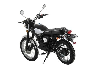 Retro 125cc - Sinnis Scrambler 125cc Rear Left