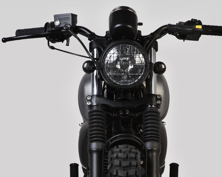 Mutt Motorcycles - Mutt RS-13 250 Front