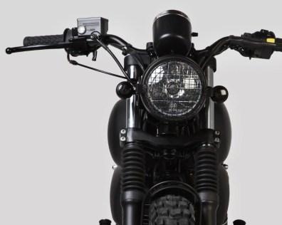Mutt Motorcycles Sabbath Front