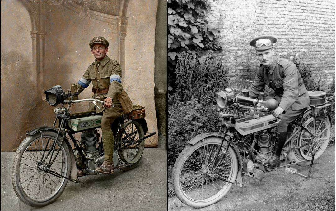 WWI Dispatch Riders