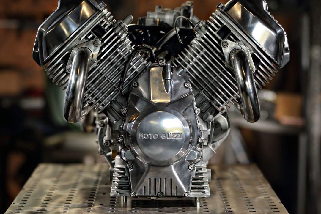 Moto Guzzi V9 ENGINE Custom Build Craig Rodsmith