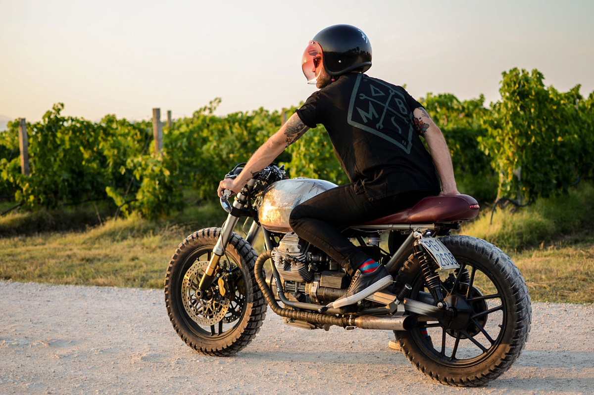 Motor Guzzi V35 Imola Marla Entrophy Motor Bike
