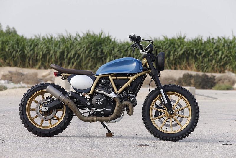Ducati Scrambler Custom ScramblArabia