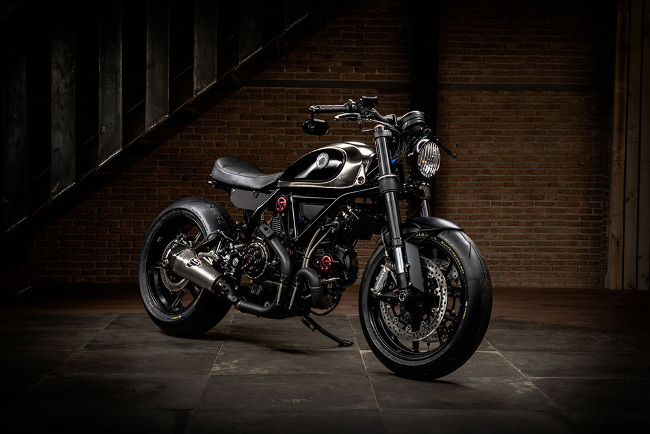 Ducati Scrambler Custom Scrambobber