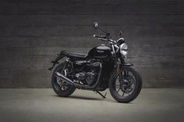 Triumph Motorcycles Street Twin Black Inspiration Kit 2018