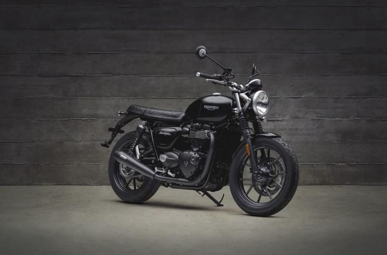 Triumph Motorcycles Street Twin Black Inspiration Kit 2018