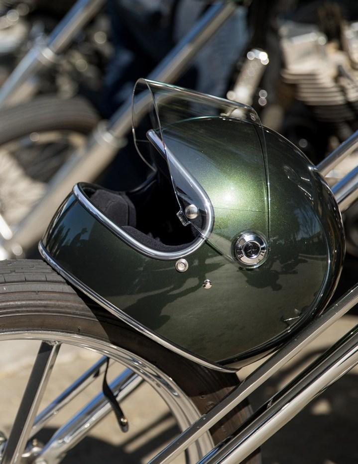 Biltwell Gringo S Racing Green - ECE Approved Helmet