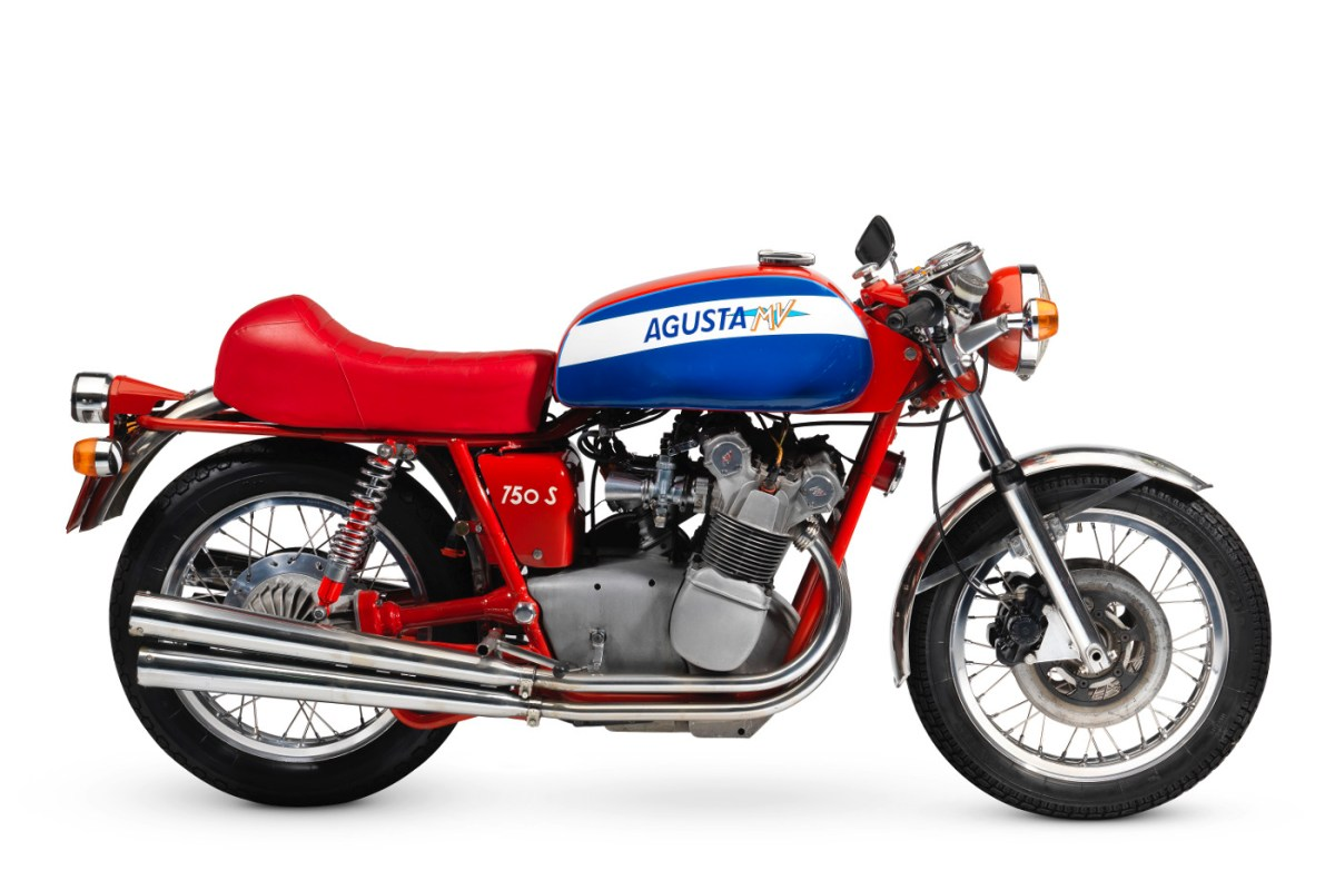 1973 MV Agusta 750s right | RENCHLIST