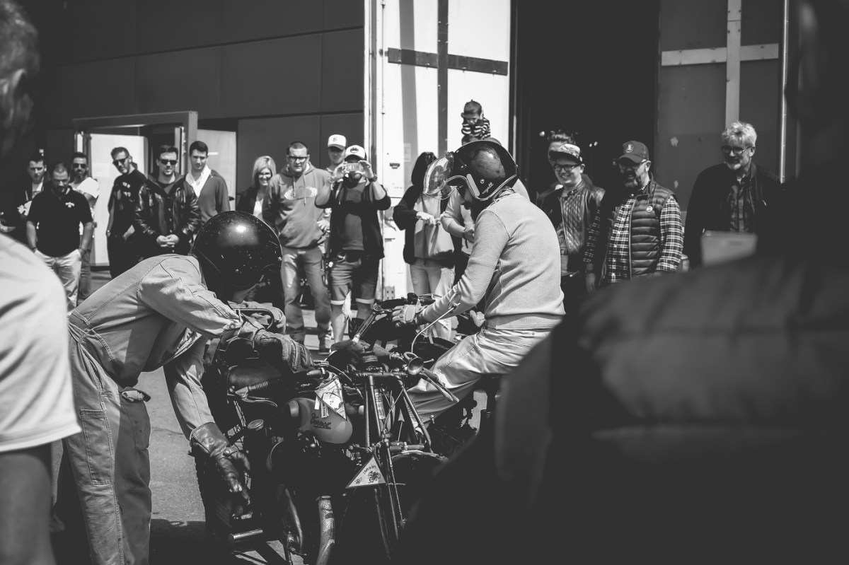 Vintage Motorcycles at Wheels Waves 2019