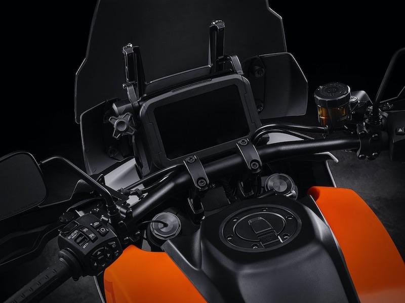 Harley-Davidson Pan American V-twin handlebars and instruments