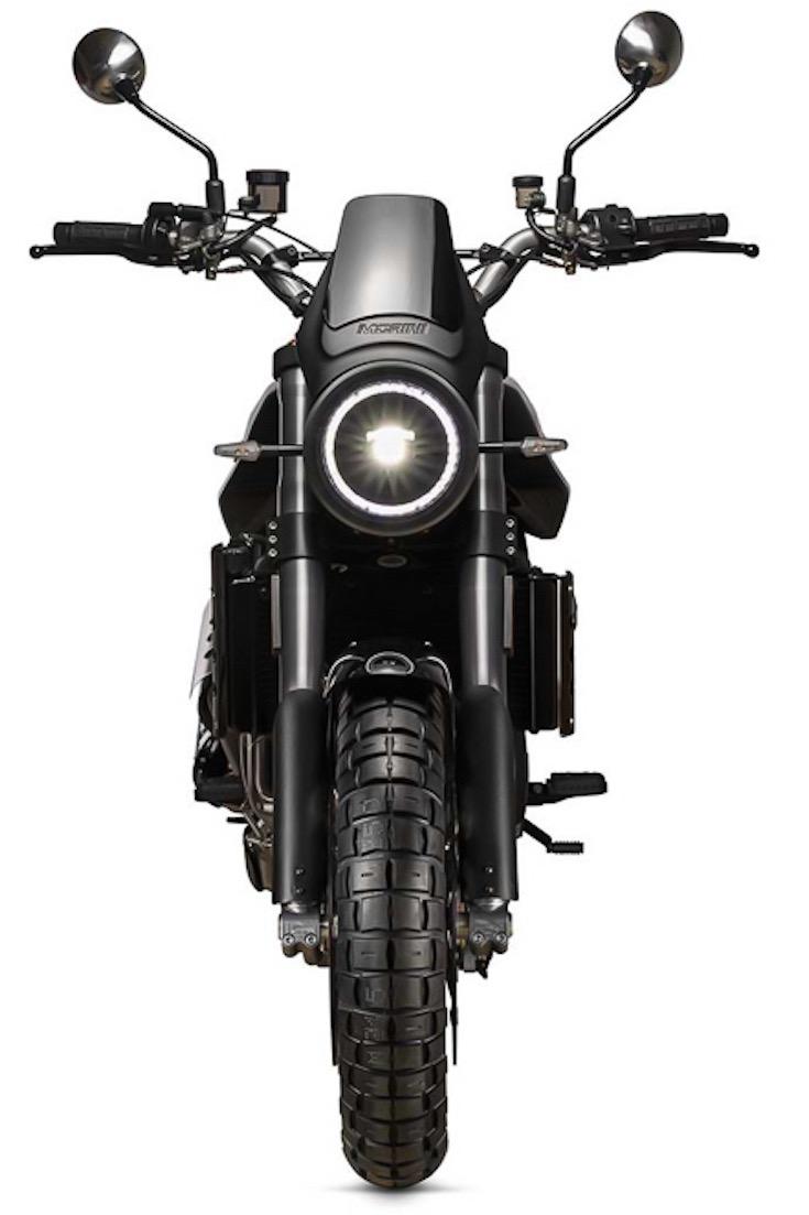 Moto Morini Super Scrambler front view