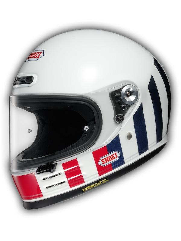 Shoei Glamster Retro Helmet [White]