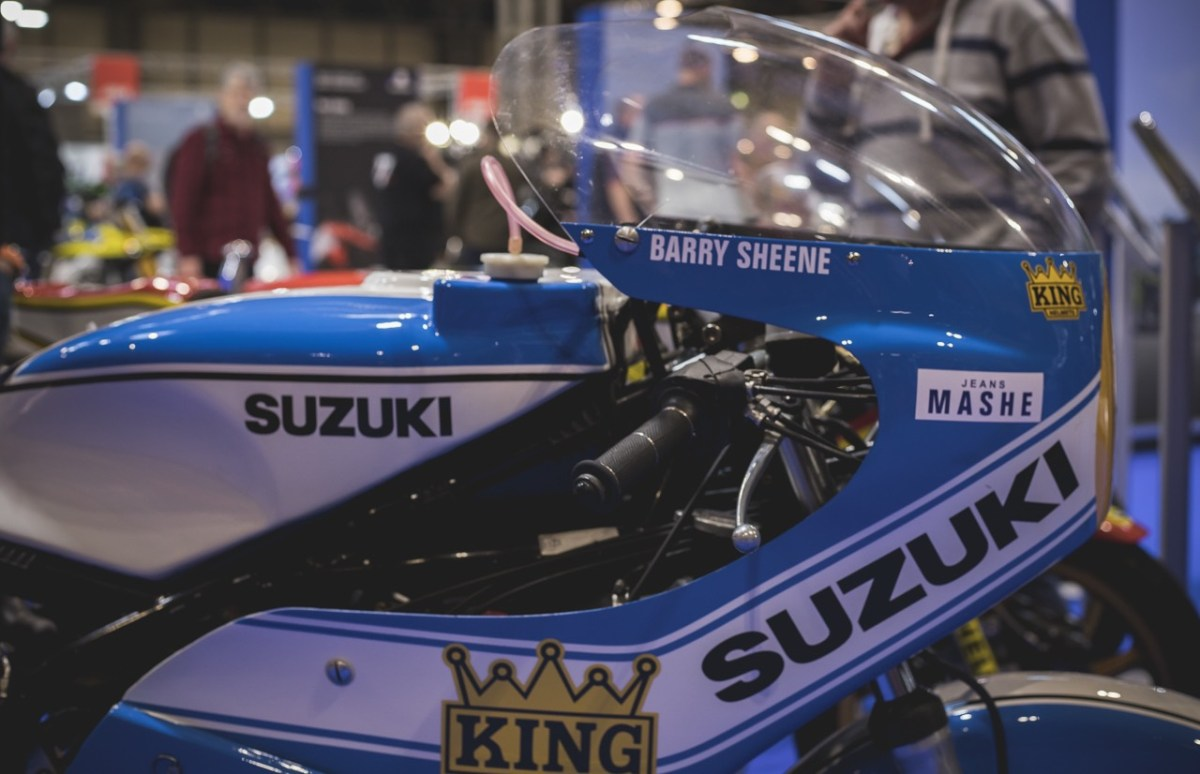 Right side Front-Fairing Barry Sheene DAF Trucks GP Racing Motorcycle