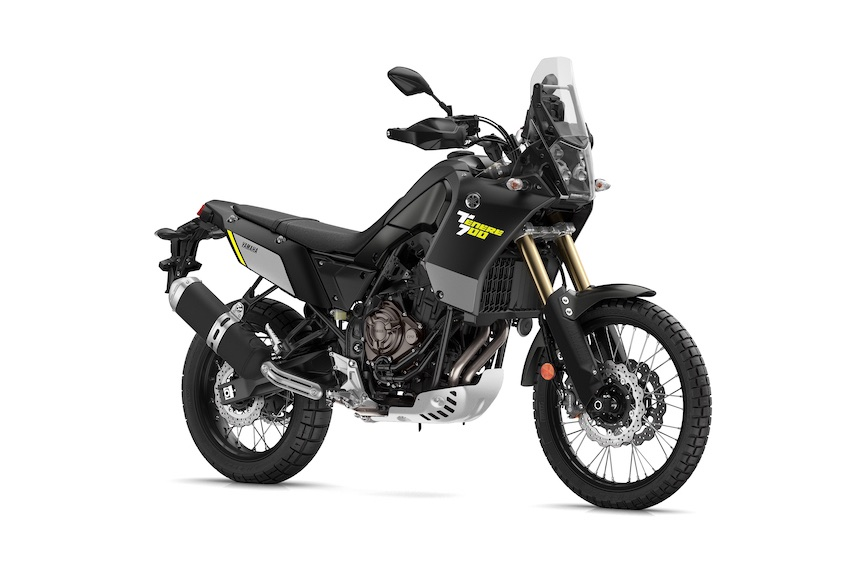 Yamaha XTZ700 Tenere Power Black front-right
