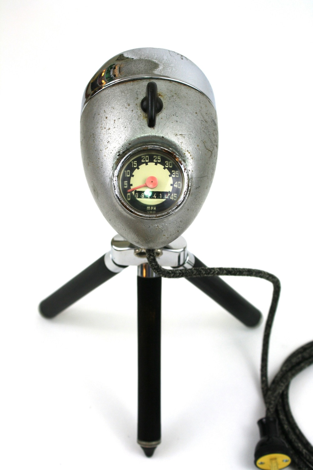 1950s NSU German Scooter Headlight Desk Lamp