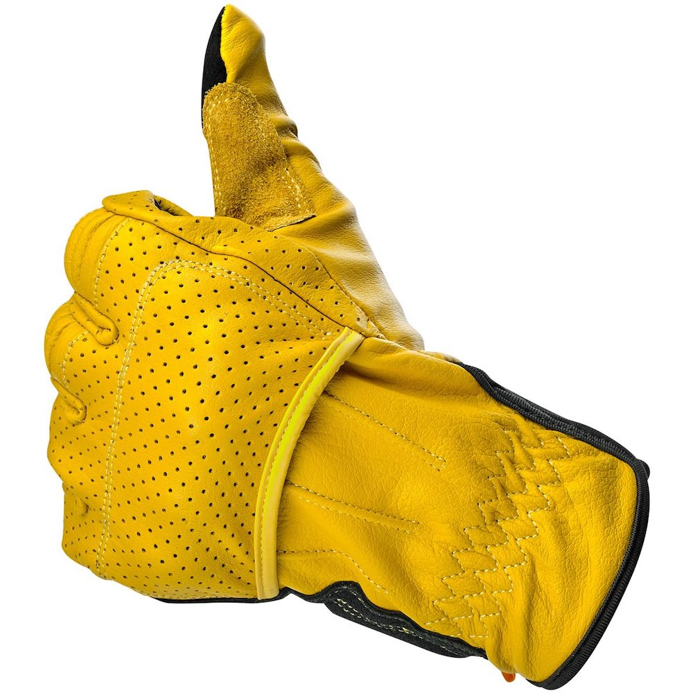 Borrego Gloves - Gold/Black thumb