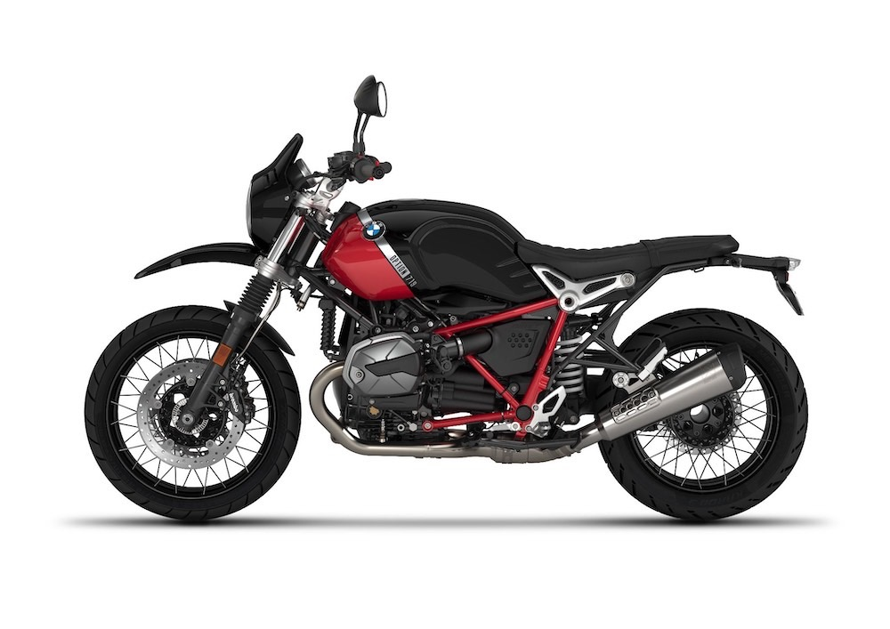 BMW R nine-T G/S Option 719 Black Storm Metallic Racing red