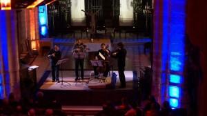 Marc Zuili - Flûte, Jérome Akoka - Violon, Claire Thirion - Violoncelle & Christophe Fassbender - Alto