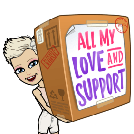 all my love and support