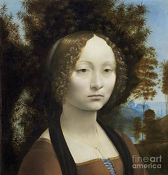Leonardo Da Vinci - Ginevra de Benci