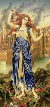 Evelyn De Morgan - Cassandra