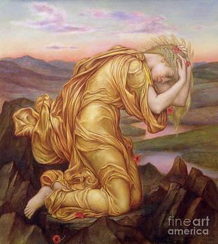 Evelyn De Morgan - Demeter Mourning for Persephone
