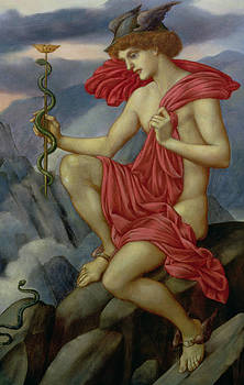 Evelyn De Morgan - Mercury