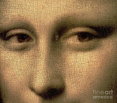 Leonardo Da Vinci - Mona Lisa    detail