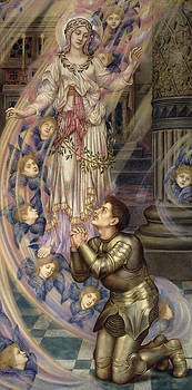 Evelyn De Morgan - Our Lady of Peace