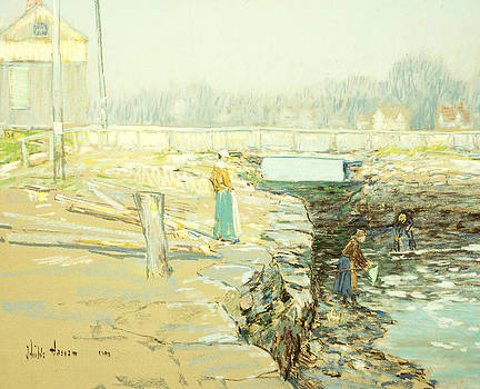 Childe Hassam - The Mill Dam Cos Cob