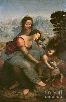 Leonardo Da Vinci - Virgin and Child with Saint Anne
