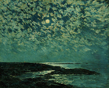 Childe Hassam - Moonlight