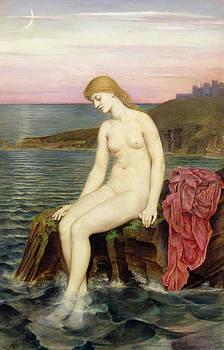 Evelyn De Morgan - The Little Sea Maid