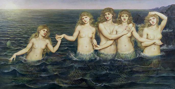 Evelyn De Morgan - The Sea Maidens