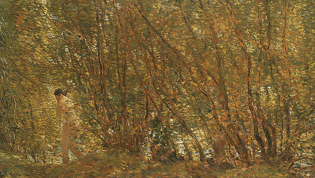 Childe Hassam - Under the Alders