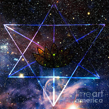 Galactic Spiritual Geometry No. 1 by Olivia Tatara