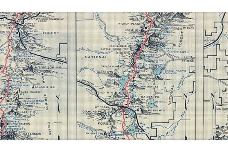pacific crest trail map oregon » Full HD MAPS Locations - Another ...