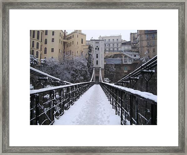 Old bridge constantine framed print boultifat, quiz near london bridge